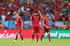 As it happened: Spain v Chile, World Cup Group B
