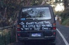 Anger over Australian campervan firm's 'little slut' slogan